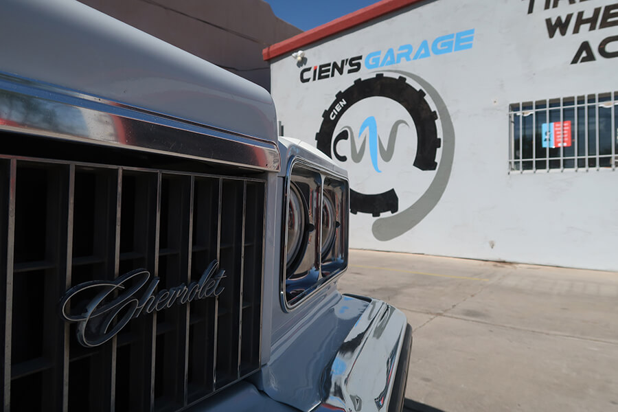 Cien's Garage business