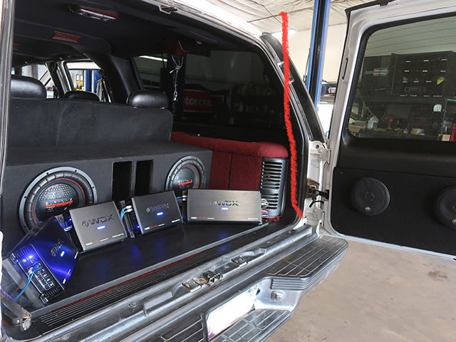 Cien's Garage's Car Audio